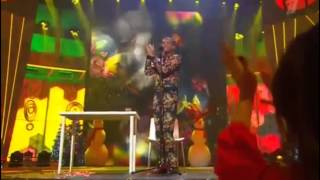 Stromae - Ave Cesaria ( on Russia TV, New Year 2015 )