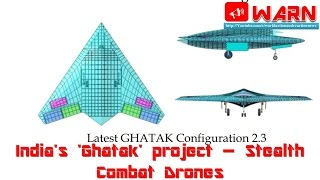 India's 'Ghatak' project – Stealth Combat Drones (All info you need)