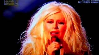 Christina Aguilera - Smile (Michael Forever The Tribute Concert on FOX Movies Premium)