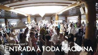 ENTRADA NOVIOS BANQUETE BODA REMEMBER  ~ Pont Aeri - Flying Free ~