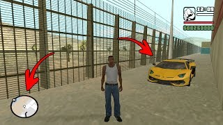 Secret Lamborghini Car Location in GTA San Andreas! (Hidden Place)
