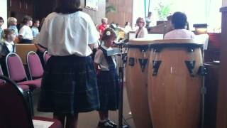 Madeline Rish Kindergarten Graduation Solo