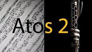 Atos 2 - Gabriela Rocha  - Partitura para Clarinete (COVER) - GRÁTIS