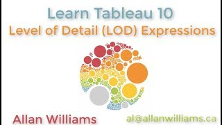 Tableau 10 : Vol 6 : Level of Detail (LOD) Expressions