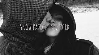 Snow Patrol -New York SUBTITULADA