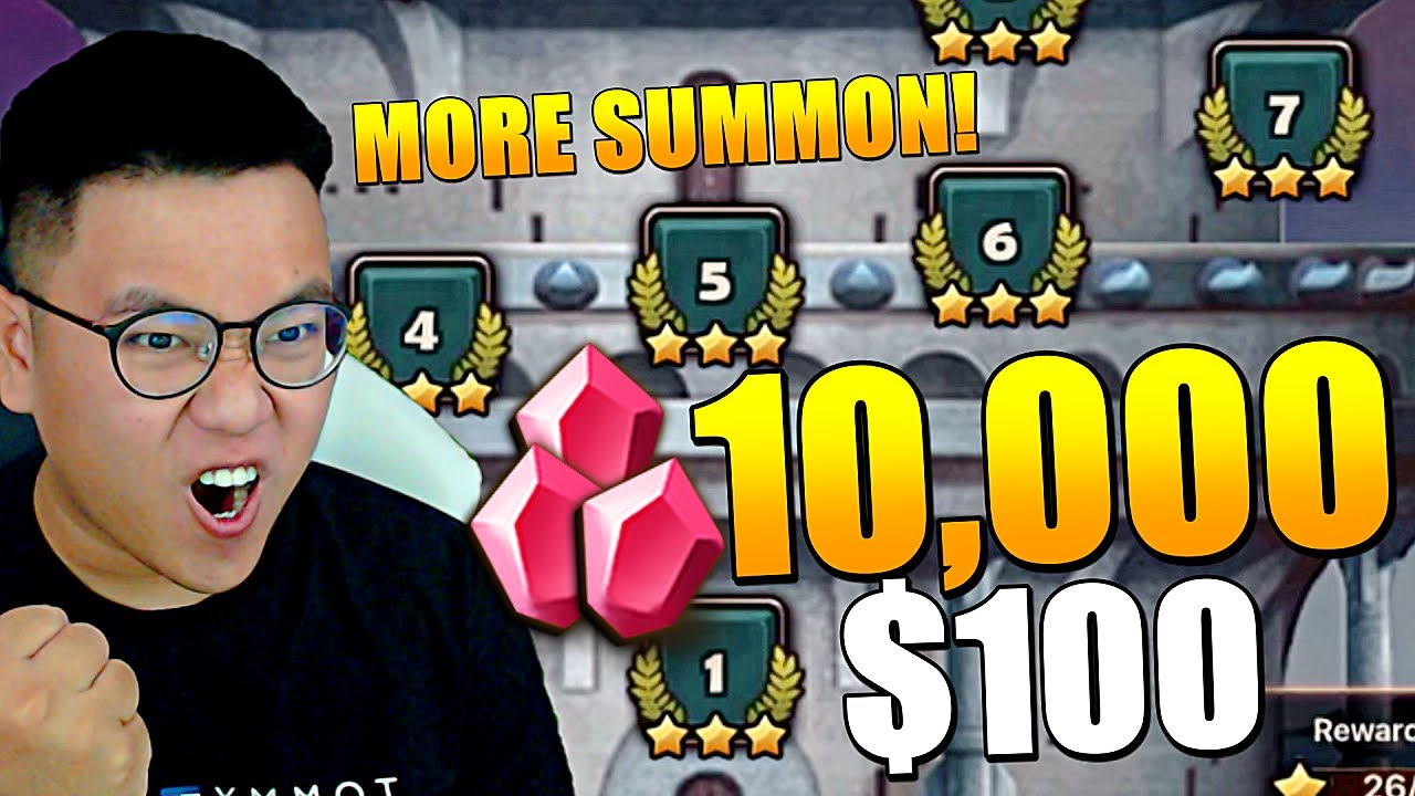 SeanB - MASSIVE SUMMON SESSION with SWC Scroll Pack 2 & Finished New ToA Hell (26*)   Summoners War