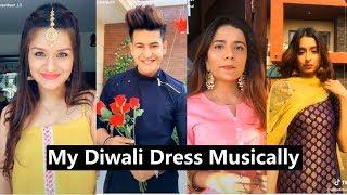 My Diwali Dress Musically   Mrunal, Avneet, Manjul, Disha, Anam Darbar