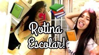 Minha rotina da manhã para ir a escola | Giovanna Oliveira