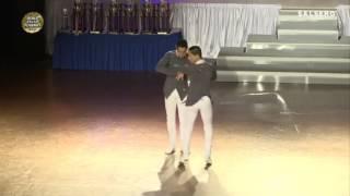 Jorge Martínez y Jorge Valcárcel - México y Perú - Same Gender Profesional - World Salsa Summit 2017