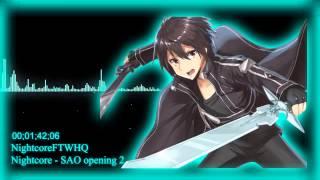 Nightcore   SAO Opening 2