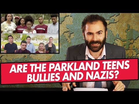 Are the Parkland Teens Bullies and Nazis? - SOME MORE NEWS: Lil Bits of News