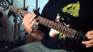 Morgoth - God is Evil (guitar cover)