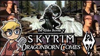 The Dragonborn Comes - Skyrim Male Acapella Version