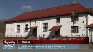 Mučín komunitne centrum uz sluzi verejnosti