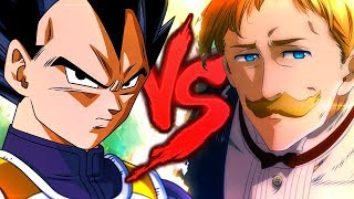 Vegeta VS. Escanor | Briga Na Rima