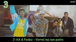 MY TOP 10 ITALIAN SONGS 2016
