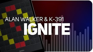 Playing IGNITE | Walker & K-391 on SUPER PADS LIGHTS - Launchpad - KIT MASK