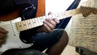 Solo de guitarra da música Animal Faminto da banda Magníficos.