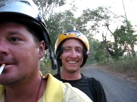 Riding on Isla Ometepe