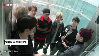 [ENG SUB] GOT7's CCTV vision in Elevator (Leaving Work)《Bang Unnie》 width=