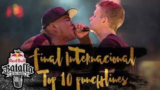 Top 10 mejores punchlines de la Final Internacional de México   Red Bull Batalla de los Gallos