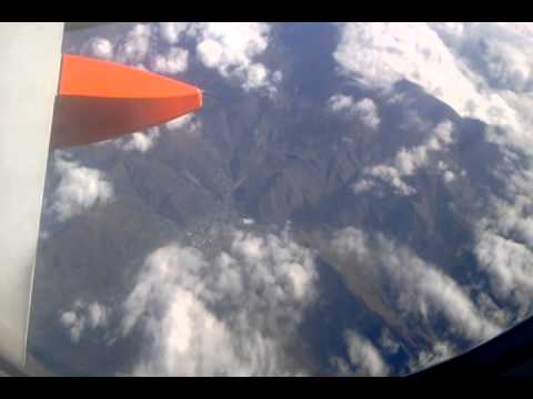 Morocco Easy Jet over Italy