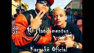 MC Menor do Chapa part  MC Pedrinho - 10 Mandamentos - Karaokê Oficial - Audio Instrumental