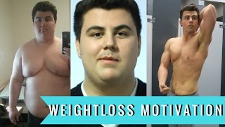 My 140lb Youtube Transformation | Weightloss Motivation | 312lbs - 172lbs width=