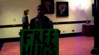 Free Hugs at Dare 2 Share