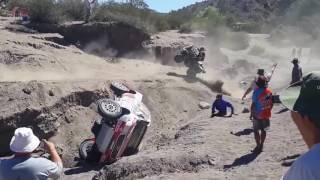 Multiple Crashes at Dakar Rally