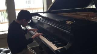 Rimsky-Korsakov/Rachmaninoff, Flight of the Bumblebee, 7 years old