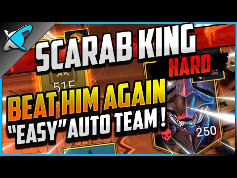 """EASY"" AUTO TEAM Borgoth the Scarab King on HARD.. AGAIN! | Doom Tower Series | RAID: Shadow Legends"