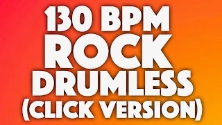 Classic Rock Drumless Backing Track Click Version