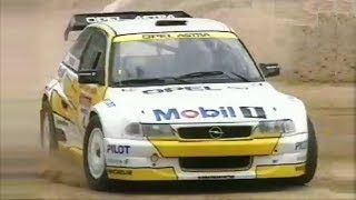 Opel Astra V6 Ice Race Car || 350Hp/950Kg AWD Monster - Rare Footage !!