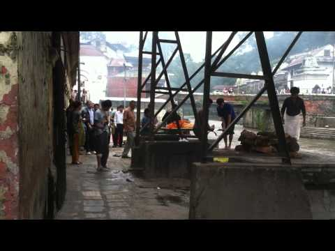Hindu Cremation in Nepal