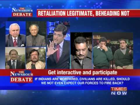 The Newshour Debate: Is the Indian Govt going soft on Pak? (Part 2 of 4)