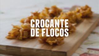 Crocante de flocos | Dicas de Bem-Estar - Lucilia Diniz