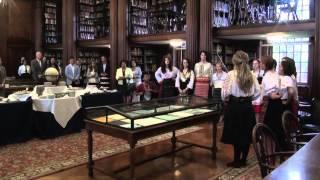 Yale Choir Sings Macedonian Song - Jovano, Jovanke