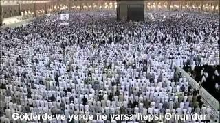 Ayetel Kürsi Kabe İmamı Sudais Türkçe Altyazılı Mealli