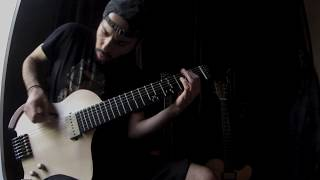 7 String Microtonal Guitar - improvisation No:1 - Bilal Karaman