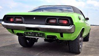 Dodge Challenger 426 Hemi V8 Acceleration 0-60 & Sound