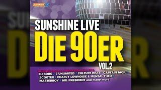 sunshine live - Die 90er Vol. 2 MiniMix