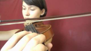 RASCAL FLATTS - What Hurts The Most (violin cover)