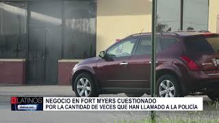 Clausuran negocio de Fort Myers luego que la policía tuvo que presentarse unas 90 veces