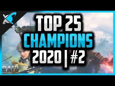 TOP 25 CHAMPIONS | 2020 (#2) | RAID: Shadow Legends