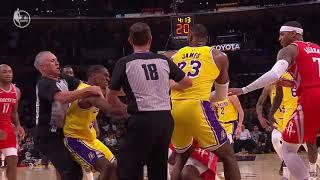 Rockets vs Lakers FIGHT