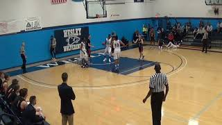 Evan Anderson's 1,000th point vs. Lancaster Bible