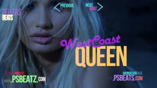 FETTY WAP feat  CHRIS BROWN, KID INK, TYGA type beat - WESTCOAST QUEEN (by PSBEATS COM)