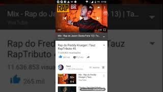 Rap do freddy krueger