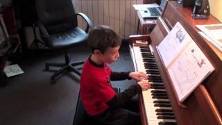 """Miguel Domingues piano """"Na Quinta do Tio Manel"""" prof  Svetlana Abril2011"""